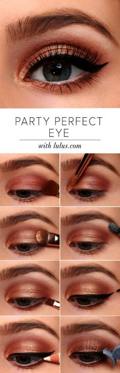 How-To: Party Perfect Eye Makeup Tutorial