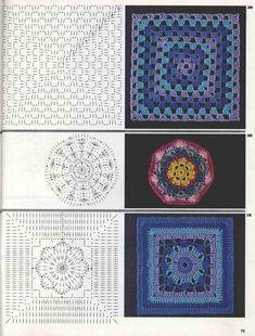 "Photo from album ""Burda узоры"" on Yandex. Crochet Flowers, Views Album, Crochet Patterns, Kids Rugs, Blanket, Knitting, Handmade, Yandex Disk, Mea Culpa"
