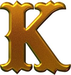 Cool Alphabet Letters, Alphabet Images, Diy Letters, Alphabet For Kids, Gold Letters, Alphabet And Numbers, Letter Art, Graffiti Lettering Fonts, Lettering Design