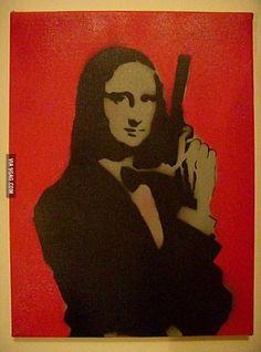 My name is Lisa . . . Mona Lisa