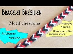 [TUTO] Bracelet brésilien très facile avec chevrons (débutant) Chevrons, Couture, Friendship Bracelets, Lily, Tutorial, Stud Earrings, How To Knit, Tejidos, Bead Loom Patterns