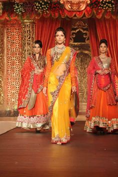Vikram Phadnis Bridal Collection Fashion Show 2013