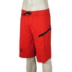 Analog Method Boardshorts - Red