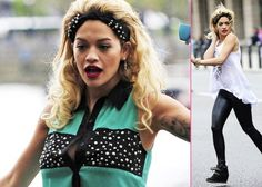 Rita Ora's Photoshoot Saturday -                                     Starting her weekend off with some work,  Rita Ora was on hand for a photo shoot at the Westminster Bridge in London on Saturday (May 11).  Doing some quick changes to her wardrobe,