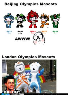 Seriously London, Hire a New Mascot Designer Guy Next Time