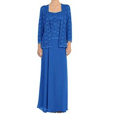 online shopping for DHS H.D Mother Of The Bride Dress Lace Long Formal Gowns With Jacket from top store. See new offer for DHS H.D Mother Of The Bride Dress Lace Long Formal Gowns With Jacket Mother Of The Bride Dresses Long, Mothers Dresses, Mother Bride, Quinceanera Dresses, Prom Gowns, Bridesmaid Dresses, Lace Evening Dresses, Lace Dress, Lace Jacket Wedding