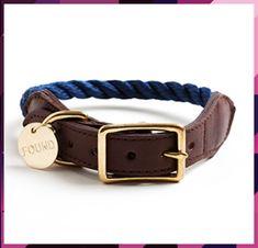 Rope Collar - Dog Collar - Blue, Natural, Orange Rope Collars Training Collar, Dog Training, Rope Leash, Collar And Leash, Dog Collars, Leather Collar, Dog Accessories, Dog Supplies, My Animal