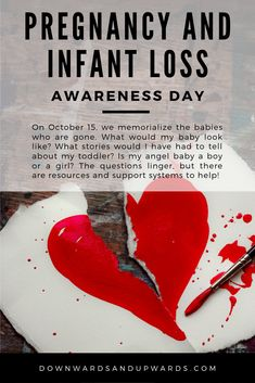 As many as 1 in 4 pregnancies end in loss. Today, we observe Pregnancy and Infant Loss Awareness Day to memorialize the babies we don't get to hold. Infant Loss Awareness, Dealing With Grief, Pregnancy And Infant Loss, Ectopic Pregnancy, Grief Loss, Parenting, Lost, Community, Babies