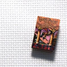 Needle Minder Miniature Book Harry Potter 1 Inch by PinoyStitch
