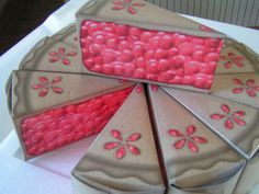 Cherry Party Favor Boxes by SweetDee484 on Etsy, $8.00