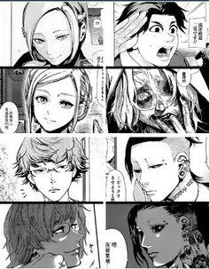#Tokyo ghoul vs Tokyo ghoul :re Akira, Takizawa, Nishiki & Uta