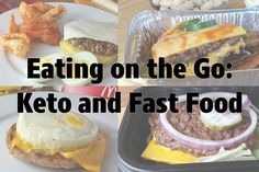 Eating Fast Food with the Keto Diet (Low Carb Diet) Cetogenic Diet, Ketosis Diet, Low Carb Diet, Eating Out Low Carb, Fast Food Low Carb, Keto Diet Fast Food, High Fat Keto Foods, Keto Friendly Fast Food, Keto Fast Food Options