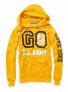 I really want this but HARD to find!!!! Pink Victorias Secret - Army pullover hoodie