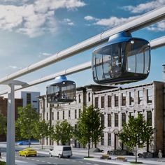 Art Lebedev Designs eRopeway Concept for Bosch