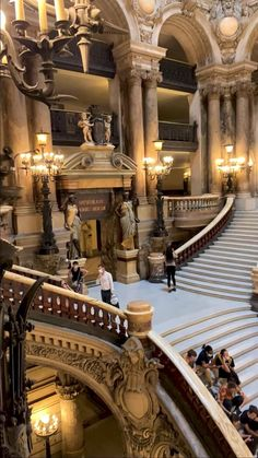 Opera House Architecture, Baroque Architecture, Beautiful Architecture, Beautiful Buildings, City Aesthetic, Travel Aesthetic, Vacation Places, Dream Vacations, Paris Video