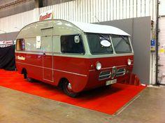Husbil av märket SAAB - Husbilsklubben.se - SAAB Camper Van built on SAAB 95 components