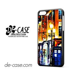 Doctor Who Tardis Painting For Iphone 5C Case Phone Case Gift Present YO