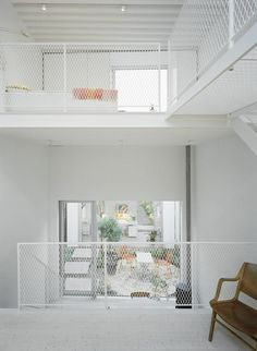 nice White Townhouse by Elding Oscarson