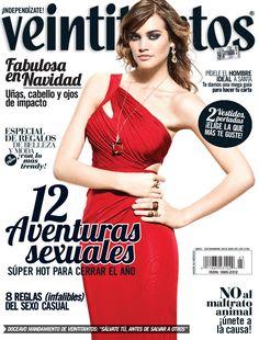Fotografiado por Enrique Covarrubias para la revista Veintitantos, México, Diciembre 2012 En esta edición salieron a la venta dos portadas, ésta es una de ellas.