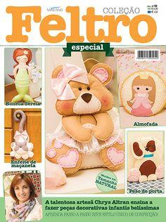 Artesanato - Feltro : COL FELTRO ESPECIAL 002 - Editora Minuano