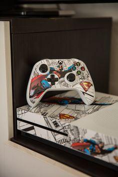 Flying Superman Xbox Gaming Skin