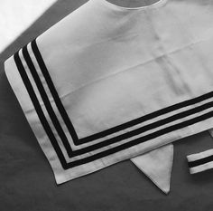 Sailor collar - organic cotton Sailor Collar, Organic Cotton