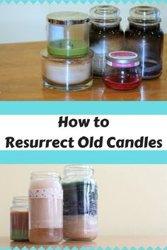 How to Combine Leftover #Candles - so easy and cheap it's crazy!
