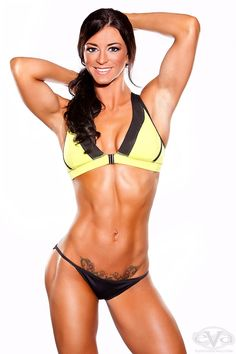 "Tarah ""Drews"" Andrews fit women #fitness #women #hardbodies fitness models"