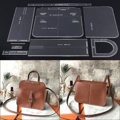 Cheap 1 set handmade leather lady casual handbag design single shoulder shoulder strap bag design template acrylic durable version pattern, Buy Quality Sewing Patterns directly from China Supplier - Leather Gifts, Leather Bags Handmade, Messenger Bag Patterns, Diy Leather Craft Tools, Leather Wallet Pattern, Diy Accessoires, Shoulder Strap Bag, Handbag Patterns, Bag Design