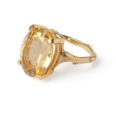 Chupi - Beauty In The Wild Ring with Citrine