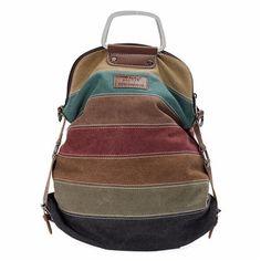 New Stylish Multipurpose Canvas Backpack
