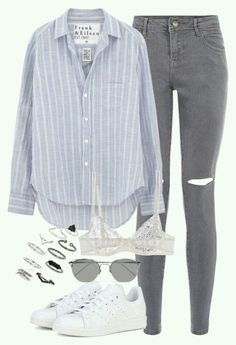 Teen Fashion Outfits, Mode Outfits, Outfits For Teens, Fall Outfits, Summer Outfits, Fashion Tips, Teenager Outfits, College Outfits, Cute Casual Outfits