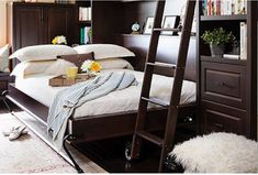 [QUESTION] How do you build a DIY murphy bed? What is the process to build a murphy bed? [ANSWER] The Murphy bed is a cross between a cabinet and a bed. It is commonly referred to as a pull-down bed, wall bed or fold-down bed. Murphy Bunk Beds, Murphy Bed Kits, Build A Murphy Bed, Murphy Bed Desk, Modern Murphy Beds, Murphy Bed Plans, Murphy Bes, Plywood Headboard, Murphy Bed Hardware