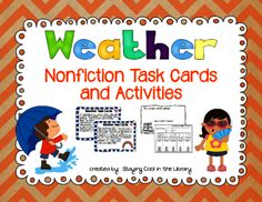 Viewing 1 - 20 of 25671 results for weather nonfiction task cards and worksheets Weather Instruments, Weather Activities, Comprehension Questions, Math Teacher, Task Cards, Nonfiction, Teaching Resources, Worksheets, Student