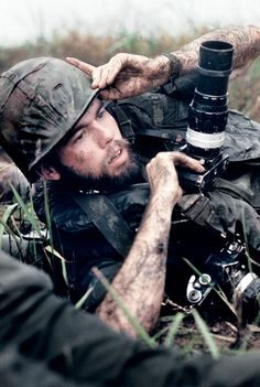 David Hume Kennerly, UPI photographer, in Vietnam, 1971.