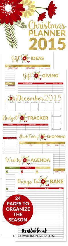 2015 Christmas Plann