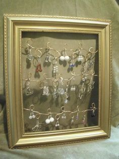 wire jewelry holder