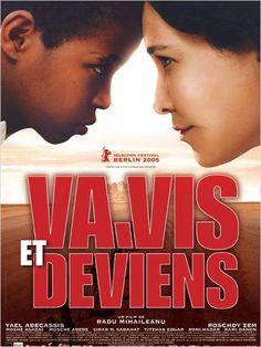 """""""Va, vis et deviens"""", drama film by Radu Mihaileanu (France, 2005)"""