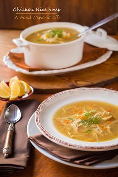 Chicken rice soup (with dill and lemon) from a pressure cooker in under 30 minutes. Pressure cookers are great tools for busy cooks. A good investment for your kitchen.