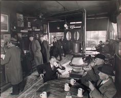 McSorley's Ale House, 15 East 7th Street, Manhattan. (November 01, 1937) - it hasn't changed much from 1937