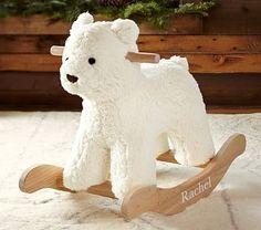 Ellie - Bear Rocker #pbkids A splurge, but so sweet...