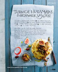 Kalamata Olives & Dried Figs Tapenade; Spreads & Dips for Libelle // By Yvette van Boven, Photography Jeroen v/d Spek, Prop Styling: Annemieke Paarlberg and Food Styling: Jaqueline Pietrowki
