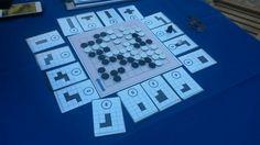 """Primeros testeos con el prototipo de """"Konkero"""" durante la Fiesta Mayor de Granollers. #boardgames #juegosdemesa #jocsdetaula #tabletop #tabletopgames #brettspiele #games #boardgaming #jeudesociete"""