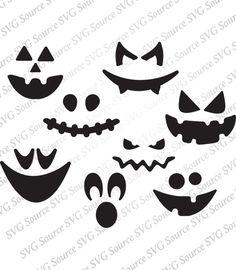 Pumpkin Face SVG - Pumpkin Faces   Pumpkin Svg - Pumpkin Clipart   Jack-O-Lantern SVG    Jack O Lantern Clip Art -- Vector DXF Cut Files by PenAndPosh on Etsy https://www.etsy.com/listing/468501924/pumpkin-face-svg-pumpkin-faces-pumpkin