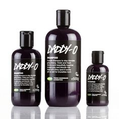 Lush - Daddy-o MUST have for blondes!! This is my dream shampoo, I am a hair stylist and have not found a product anything like this is salons. Smells of beautiful violets, and lathers wonderfully, left my hair a perfectly tones platinum blonde.