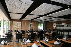 Room Acoustics - Interior cladding panels from Bruag