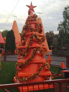Christmas Trees of Cars Land - Cone Christmas Tree