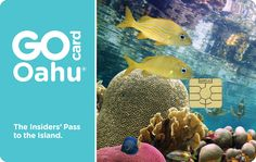 The Go Oahu Card is the best-selling all-inclusive attraction pass that gives you free admission to 35 Oahu attractions and activities for one low price.