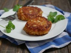 I grew up in northern Virginia, and so I've had my fair share of Maryland crab cakes. Let me tell you that this gluten-free version is spot on.