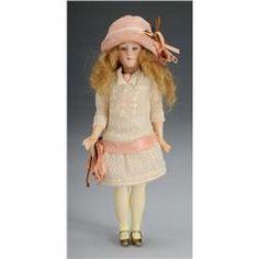 Armand Marseille Flapper Lady Doll
